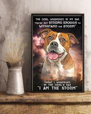 American Bulldog-02 - Storm 24x36 Poster lifestyle-poster-3