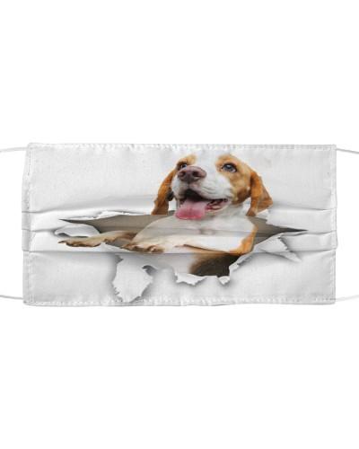 Beagle-Face Mask-Torn02