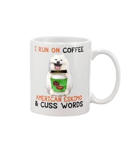American Eskimo-Coffee