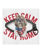 Shih Tzu-US-Keep Calm Cloth face mask aos-face-mask-coverlet-lifestyle-front-02