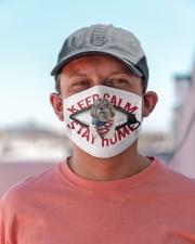 Shih Tzu-US-Keep Calm Cloth face mask aos-face-mask-lifestyle-06