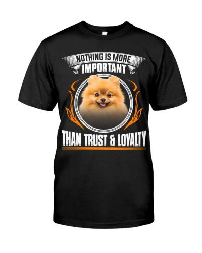 Pomeranian-Trust And Loyalty
