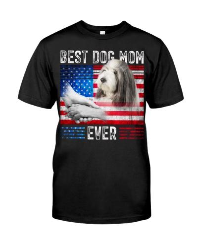 Bearded Collie-Dog Mom Ever