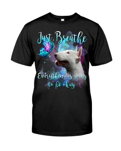 Bull Terrier-Just Breathe