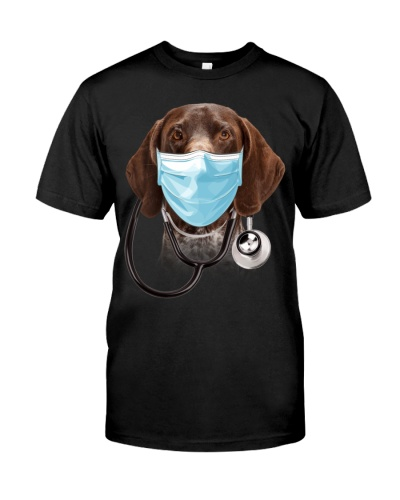 German Shorthaired Pointer-Doctor Dog