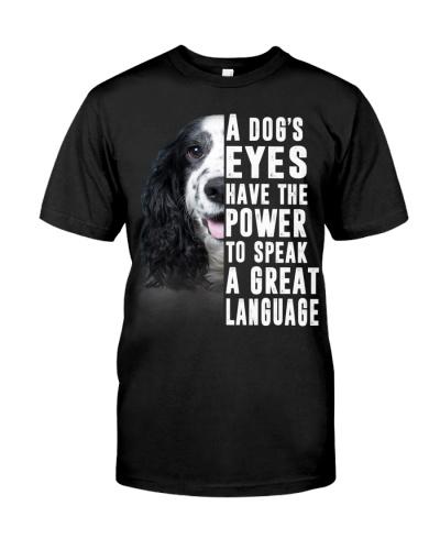 English Cocker Spaniel-Great Language