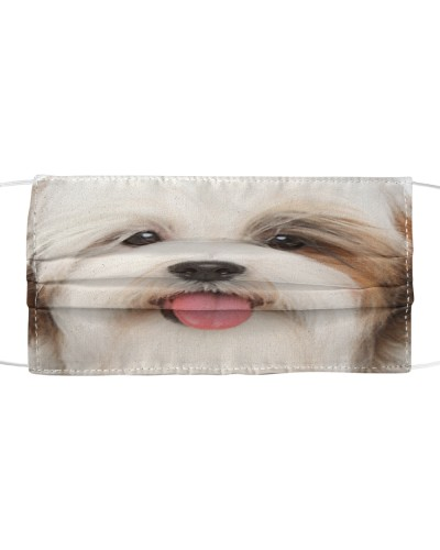 Lhasa Apso-Face Mask
