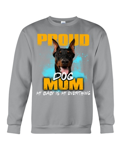 Doberman-Proud Dog Mom