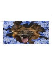 German Shepherd-Blue Mask Cloth face mask front