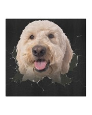 Goldendoodle-Hole Crack Cloth face mask aos-face-mask-coverlet-lifestyle-front-02