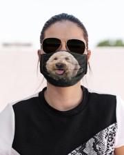 Goldendoodle-Hole Crack Cloth face mask aos-face-mask-lifestyle-02