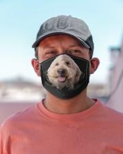 Goldendoodle-Hole Crack Cloth face mask aos-face-mask-lifestyle-06