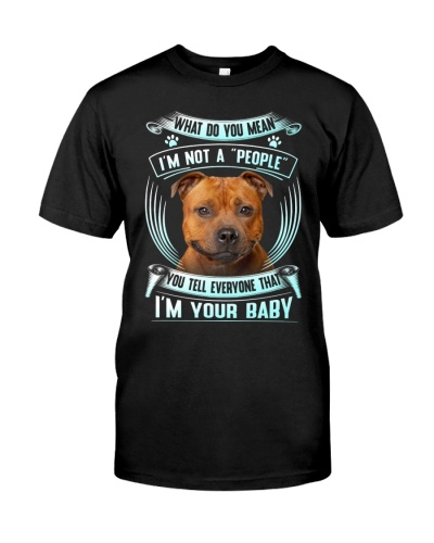 Staffordshire Bull Terrier-Your Baby