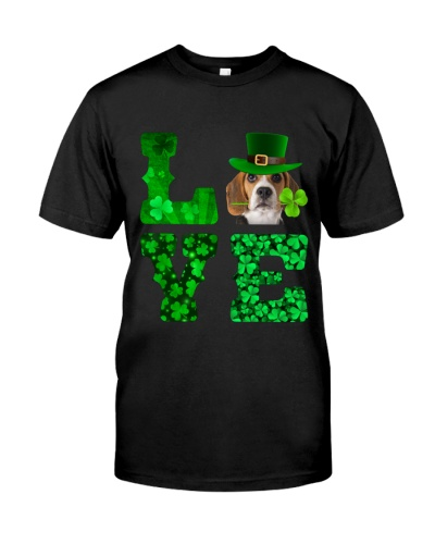 Beagle-Love-Shamrock