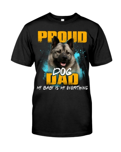 Norwegian Elkhound-Proud Dog Dad