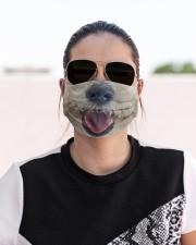 Coton De Tulear-Mask Mouth Cloth face mask aos-face-mask-lifestyle-02