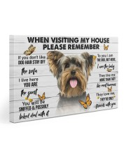 Yorkshire Terrier-Please 30x20 Gallery Wrapped Canvas Prints thumbnail