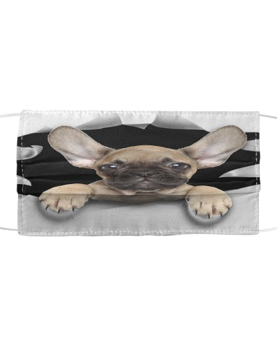 French Bulldog-Face Mask-Torn03