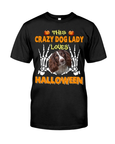 English Springer Spaniel-Loves Halloween