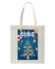 Norwegian Elkhound-Merry Christmas Tote Bag thumbnail
