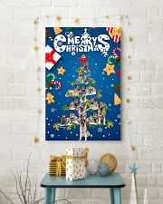 Norwegian Elkhound-Merry Christmas 24x36 Poster lifestyle-holiday-poster-3