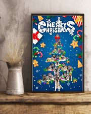 Norwegian Elkhound-Merry Christmas 24x36 Poster lifestyle-poster-3