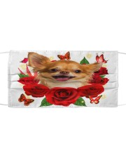 Chihuahua-02-Face Mask-Rose Cloth face mask front
