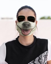 Jack Russell Terrier-Mask Mouth Cloth face mask aos-face-mask-lifestyle-02