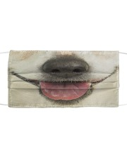 Jack Russell Terrier-Mask Mouth Cloth face mask front