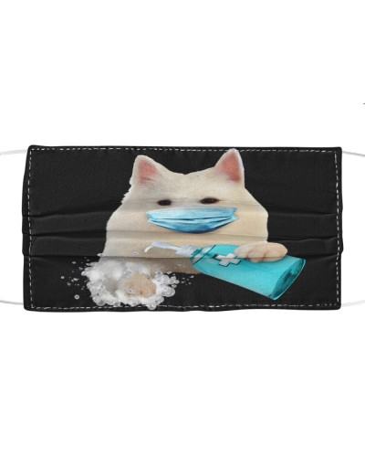 American Eskimo-Face Mask-Wash