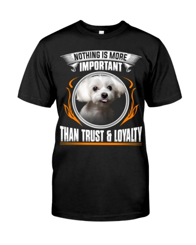 Maltese-Trust And Loyalty
