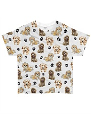 Cockapoo - Paw All-over T-Shirt front