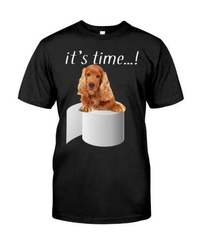 English Cocker Spaniel-Red-It's Time