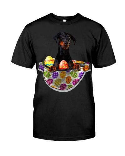Doberman-Waist Pack Easter