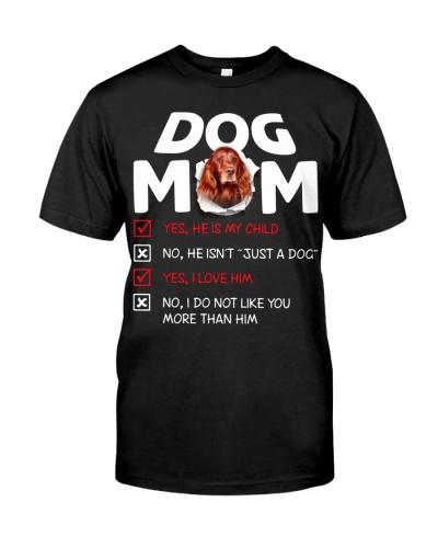 Irish Setter-Dog Mom