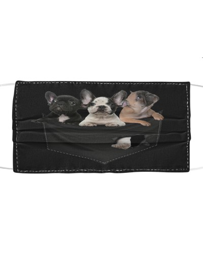 French Bulldog-02-Face Mask-Pocket