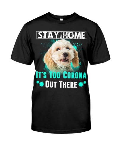 Poodle Crossbreed-Stay Home