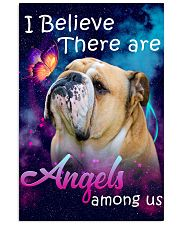 English Bulldog-02-Angels-Poster 11x17 Poster front