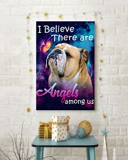 English Bulldog-02-Angels-Poster 11x17 Poster lifestyle-holiday-poster-3
