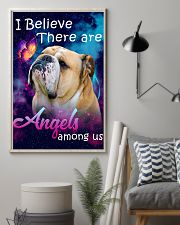 English Bulldog-02-Angels-Poster 11x17 Poster lifestyle-poster-1