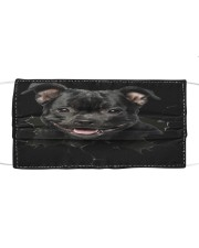 Staffordshire Bull Terrier-02-Hole Crack Cloth face mask front