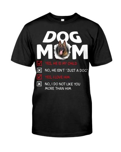 Belgian Shepherd-Dog Mom