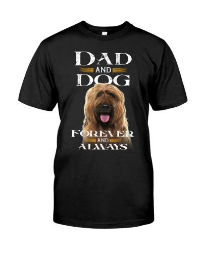 Briard-Dad And Dog