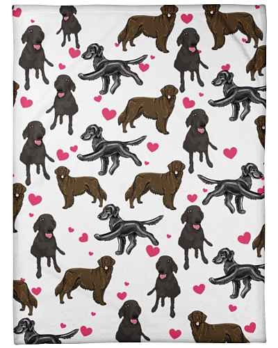 Flat Coated Retriever - Heart02