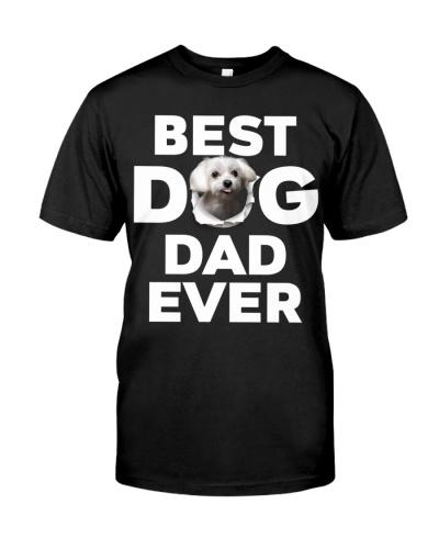 Maltese-Best Dog Dad Ever