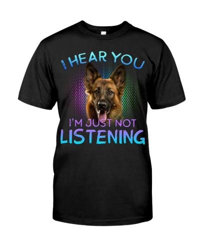German Shepherd-I Hear You