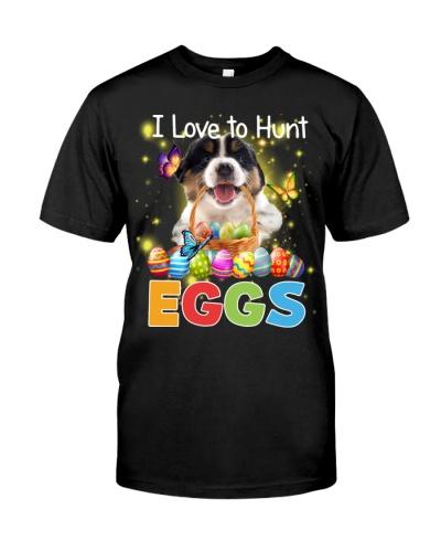 Australian Shepherd-Hunt Eggs