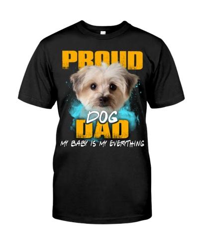 Morkie-Proud Dog Dad