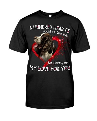 English Cocker Spaniel-Hundred Hearts