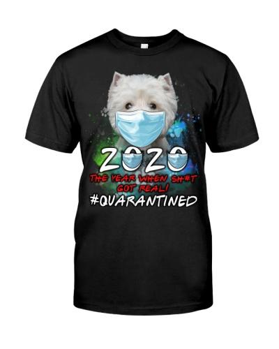 West Highland White Terrier-Quarantined